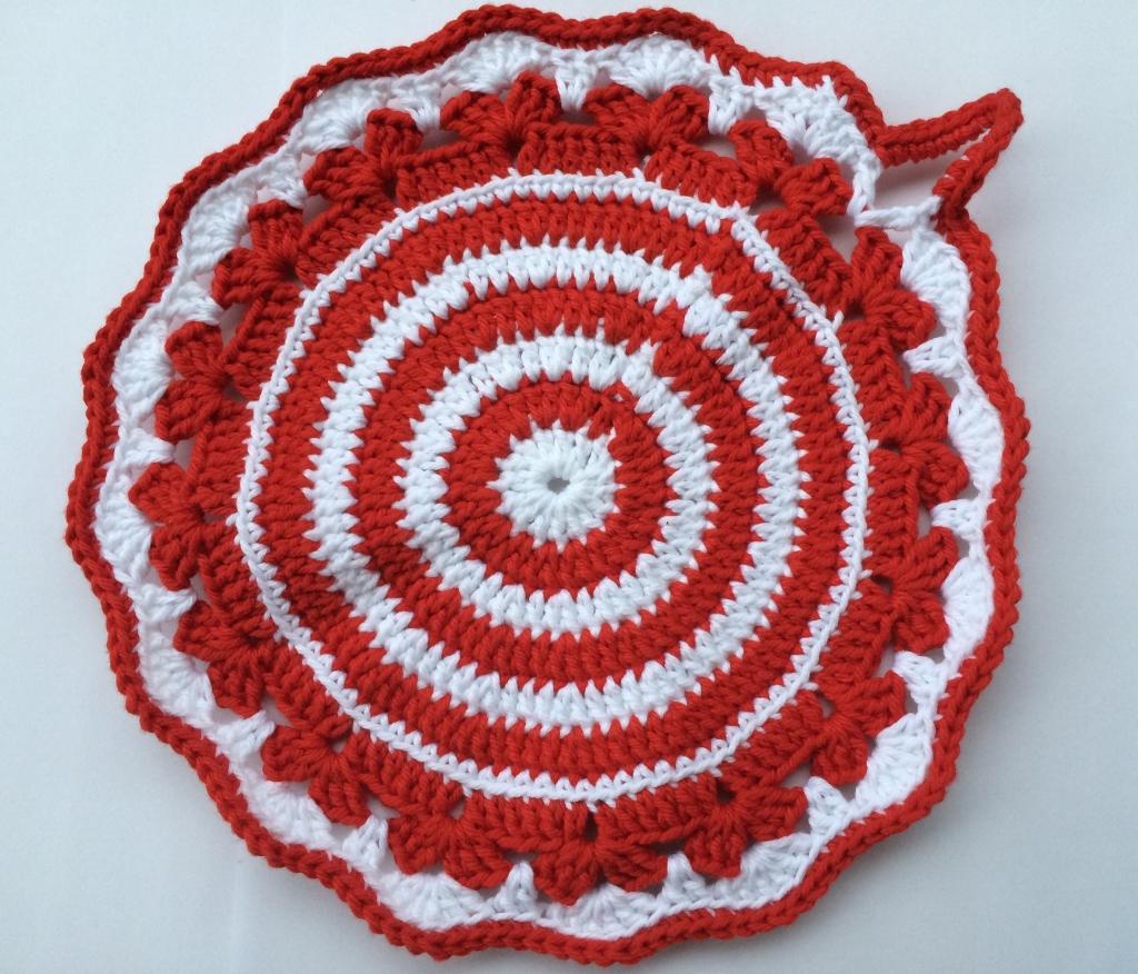 Grytlapp röd