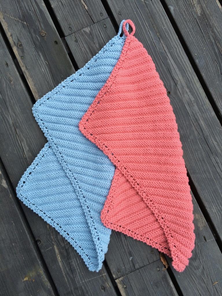 Vinterviken - Handduk draperad